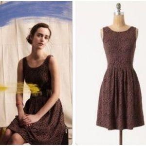 Anthropologie Deletta Neovision Leopard Dress